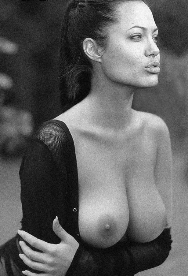 Jolie boobs angelina