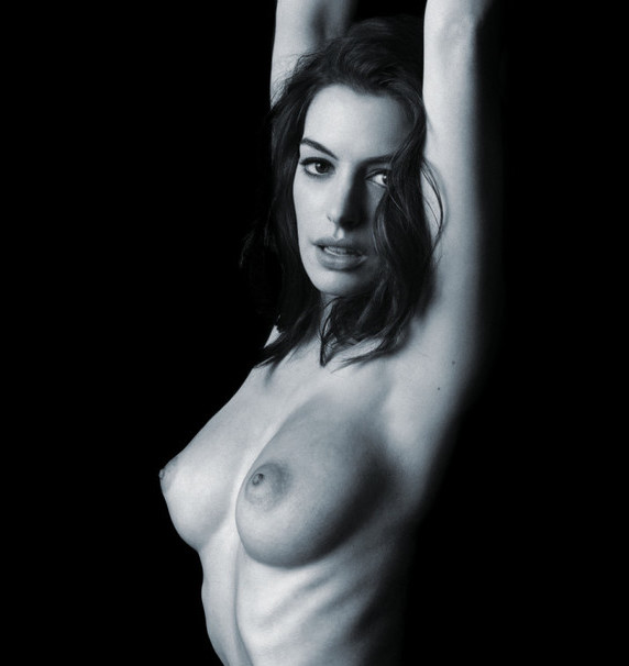 anne hathaway boobs naked hot nude