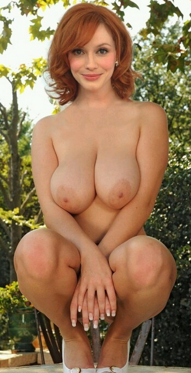 Mature red head wife nude