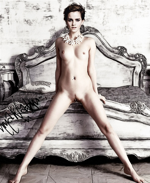 Emma watson nude real