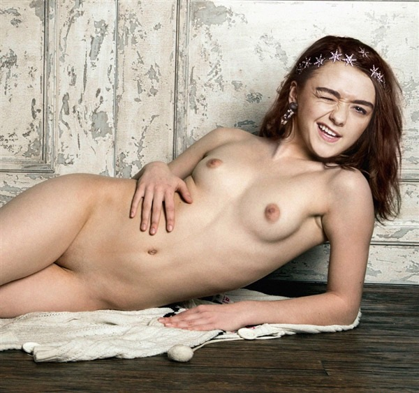 Maisie williams nude pussy well