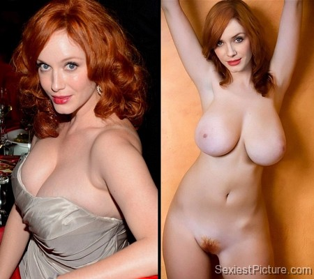 Christina hendricks naked sex boobs getting fucked share