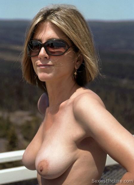 Jennifer aniston topless leaked consider, that