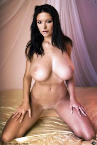 catherine zeta jones boobs