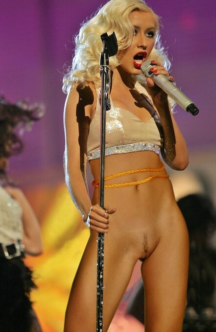 Christina Aguilera Pussy  Celebrity Leaks Scandals Leaked Sextapes-6513