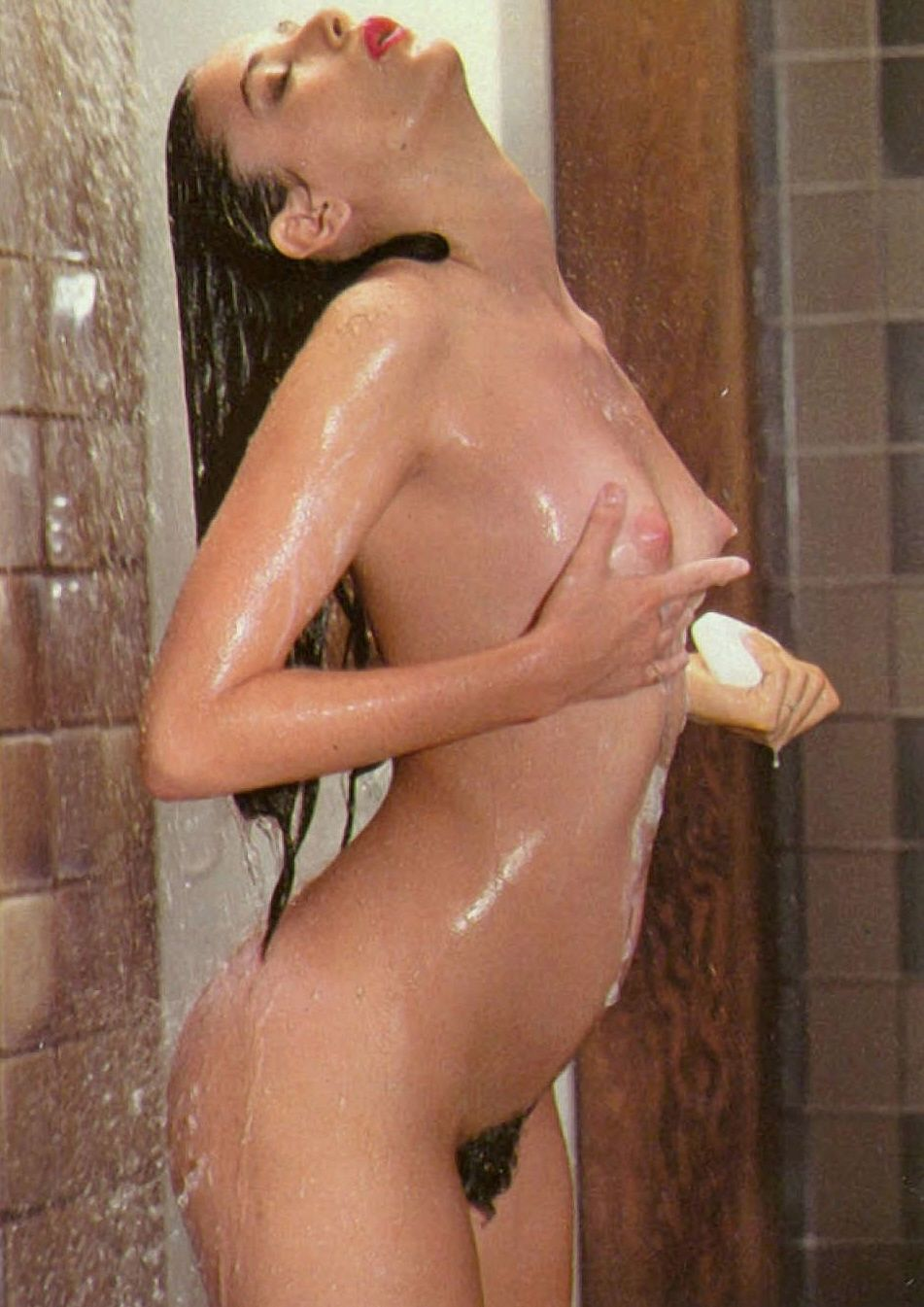 Demi Moore Nude Naked Shower Boobs Tits Hairy Pussy Wet  Celebrity -1882