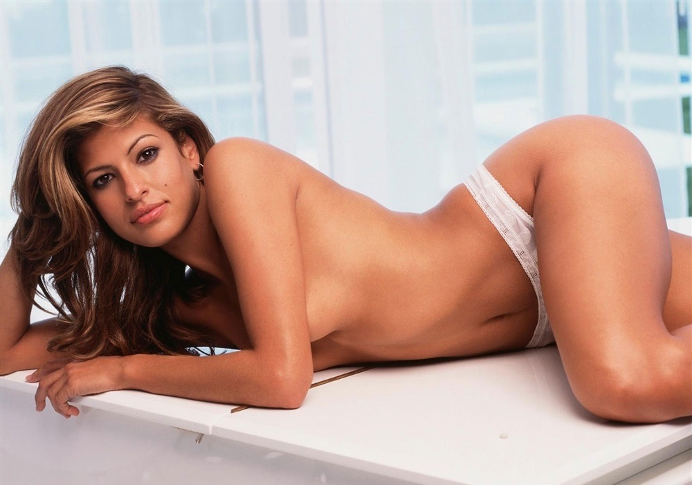 Eva Mendes Nude  Celebrity Leaks Scandals Leaked Sextapes-7633