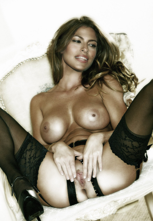Eva Mendes Nude Naked Lingerie Huge Boobs Big Tits Pussy Spread  Celebrity Leaks Scandals Sex Tapes Naked Celebrities-6460