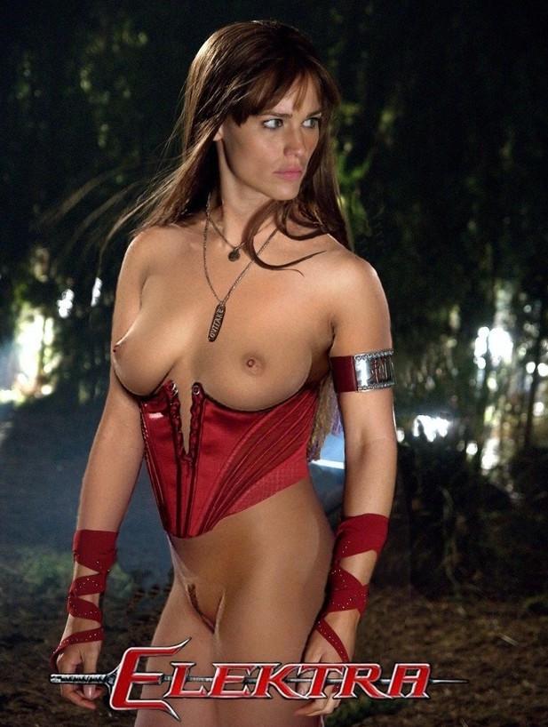Jennifer Garner Elektra Nude Naked Boobs Big Tits Pussy -999
