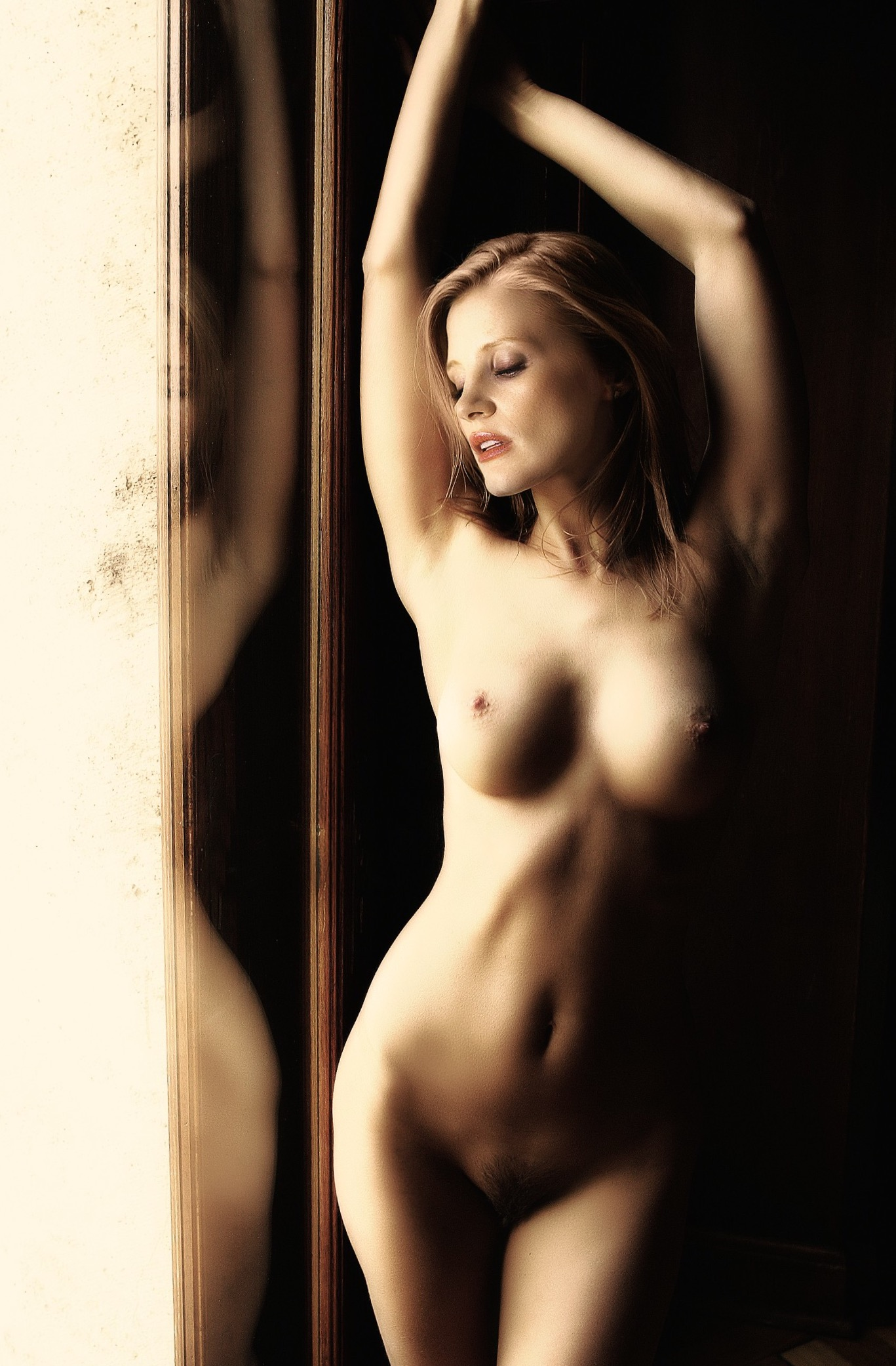 Jessica Chastain Naked  Celebrity Leaks Scandals Leaked Sextapes-2630