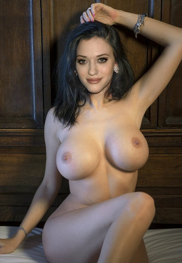 how big are kat dennings boobs