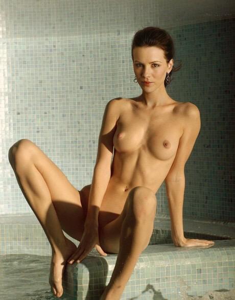 girls nude in swimming pool