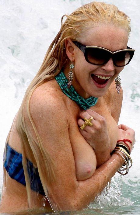Pity, Lindsay lohan academy boob shall afford