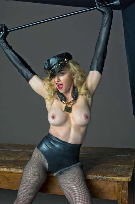Madonna Nude Topless Boobs Big Tits  Celebrity Leaks -8080