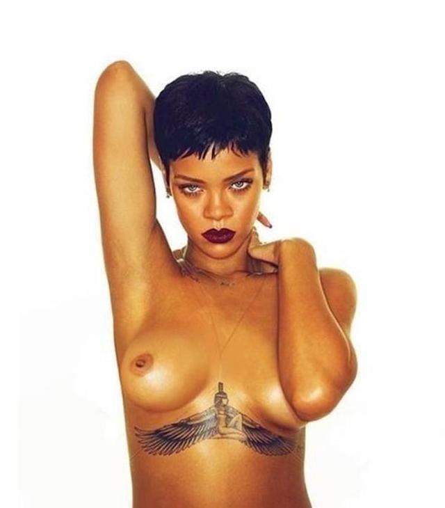 Pussy rihanna nude Rihanna nude