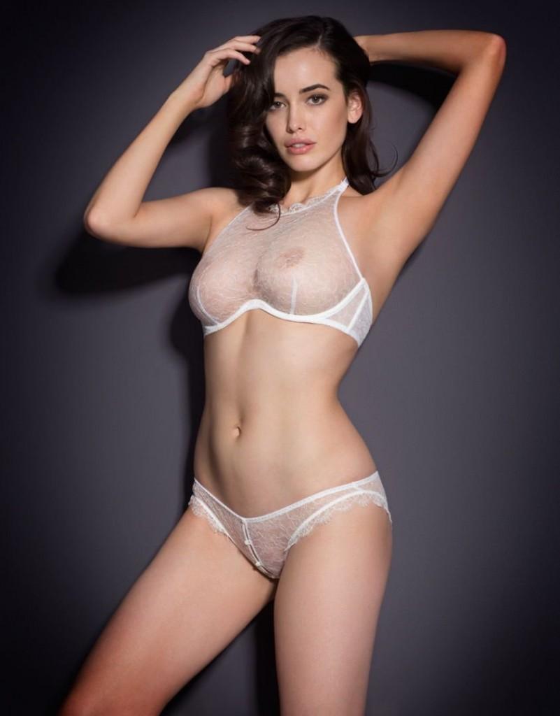 Sheer bras see through bras