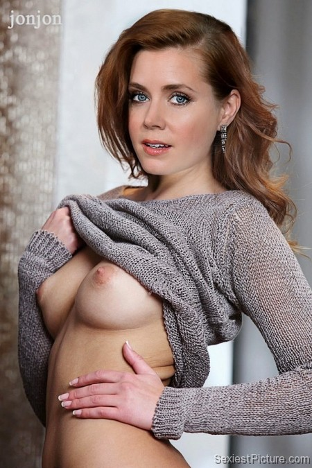 Amy Adams nude topless boobs big tits