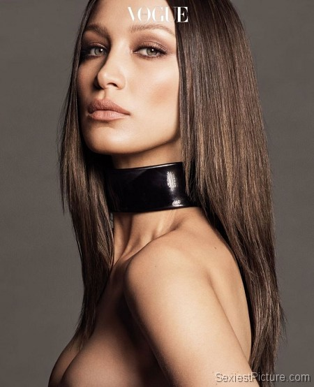 Bella Hadid Topless and Sexy Vogue Photoshoot