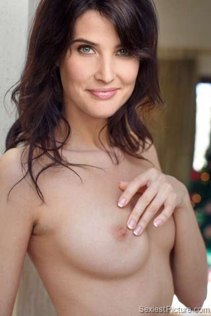 Cobie Smulders naked topless boobs big tits