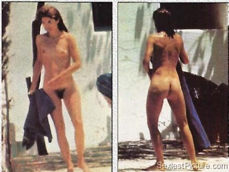 Jackie Kennedy Onassis nude naked boobs pussy