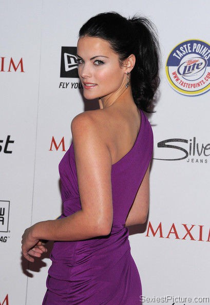 Jaimie Alexander looking hot on the red carpet