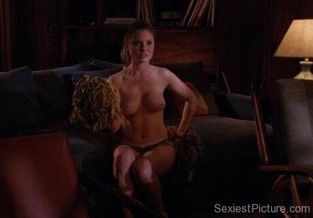 Kaitlin Doubleday nude scene topless boobs big tits panties