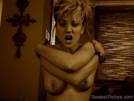 Kaley Cuoco nude Boobs topless leaked