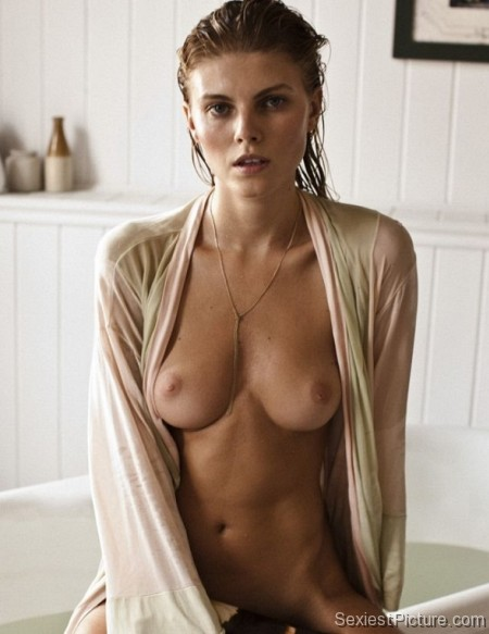 Maryna Linchuk nude naked boobs pussy model