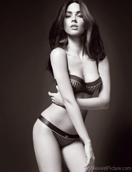 Megan Fox bra panties perfection