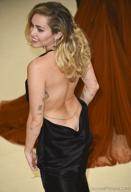 Miley Cyrus sexy ass at the Met Gala