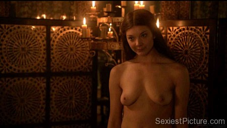 Natalie Dormer nude scene topless naked boobs big tits