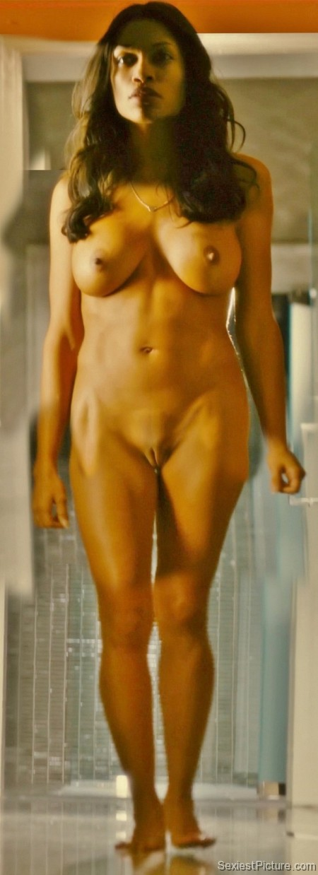 Rosario Dawson nude naked boobs big tits pussy